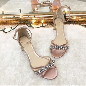 Jewel Badgley Mischka Giona Jeweled Heels